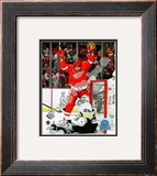 M. Hossa - &#39;09 St. Cup / Gm. 1 Framed Photographic Print