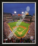 Rangers Ballpark in Arlington Framed Photographic Print