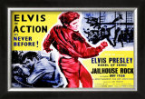 Jailhouse Rock (British Release) Print