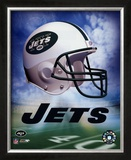 Jets Helmet Logo ('04) ©Photofile Framed Photographic Print
