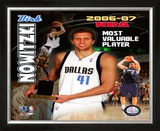 Dirk Nowitzski Framed Photographic Print