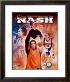 Steve Nash 2004 - 2005 NBA Most Valuable Player Composite Framed Photographic Print
