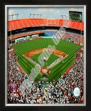 Dolphin Stadium - 2009 Opening Day (Marlins) Framed Photographic Print