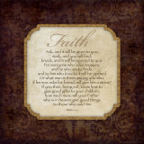Faith Poster by Stephanie Marrott