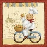 Chef's Market II Prints by Daphne Brissonnet