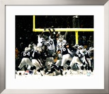 Adam Vinatieri - 2001 Divisional Playoffs vs Oakland Raiders Framed Photographic Print