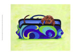 Daschund Clutch Posters by Carol Dillon