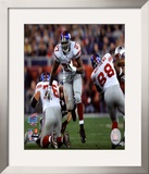 Brandon Jacobs - Super Bowl XLII Framed Photographic Print