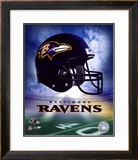 Ravens Helmet Logo ('04) ©Photofile Framed Photographic Print