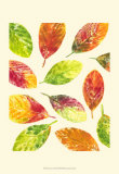 Vibrant Leaves II Prints by Luisa Tosini