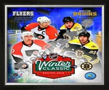 2010 NHL Winter Classic Matchup Framed Photographic Print