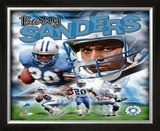 Barry Sanders Framed Photographic Print