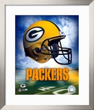 Green Bay Packers Helmet Logo ©Photofile Framed Photographic Print