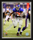 Brandon Jacobs 2008 Rushing Framed Photographic Print
