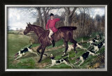 Horse Fox Hunt I Prints by Timothy Blossom