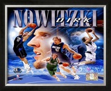 Dirk Nowitzki Framed Photographic Print