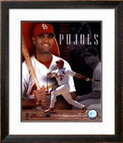 Albert Pujols - Composite - ©Photofile Framed Photographic Print