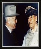 Harry Truman and General Douglas MacArthur Framed Photographic Print