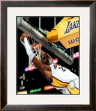 Kobe Bryant, Game 5 of the 2008 NBA Finals Framed Photographic Print