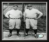 Lou Gehrig And Babe Ruth Framed Photographic Print