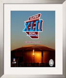 Super Bowl XLII Framed Photographic Print