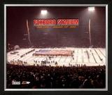 Foxboro Stadium - Last Game Overlay - ©Photofile Framed Photographic Print