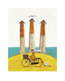The Square, the Round and the Arched Poster par Sam Toft