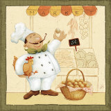 Chef&#39;s Market I Print by Daphne Brissonnet