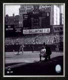 Don Larsen - Perfect Game - 1st Pitch Framed Photographic Print