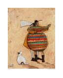 Dancing Cheek to Cheeky Affiches par Sam Toft