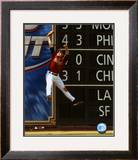 Lance Berkman - 2004 Fielding Action ©Photofile Framed Photographic Print