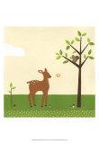 Woodland Friends I Poster von Erica J. Vess