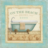 Beach Hotel I Poster by Lisa Audit