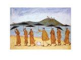The Seven Umbrellas of Enlightenment Reprodukcje autor Sam Toft