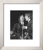 Paul McCartney and Georges Harrison Posters