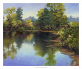 Summer Pond Giclee Print by Mary Jean Weber