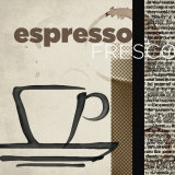 Espresso Fresco Posters by Tandi Venter