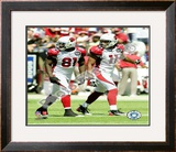 Anquan Boldin & Larry Fitzgerald Framed Photographic Print