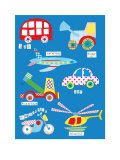 Boys Toys Prints by Rachel Taylor