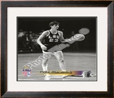Pete Maravich Louisiana State Tigers 1969 Framed Photographic Print
