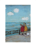 Her Favourite Cloud Posters by Sam Toft