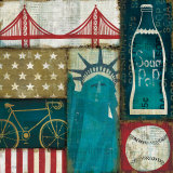 American Pop I Prints by Mo Mullan