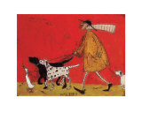 Walkies Print by Sam Toft