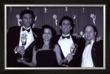 The Cast of Seinfeld with Awards Prints