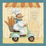 Chef's Market III Posters par Daphne Brissonnet