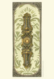 Elegant Escutcheon III Art