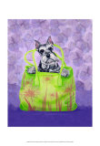 Schnauzer Handbag Posters by Carol Dillon