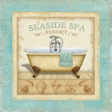Beach Hotel II Prints by Lisa Audit