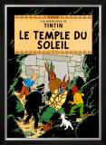Le Temple du Soleil, c.1949 Posters por Hergé (Georges Rémi)