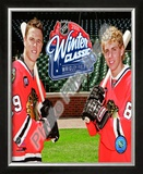 Jonathan Toews & Patrick Kane 2009 NHL Winter Classic Promotion Framed Photographic Print